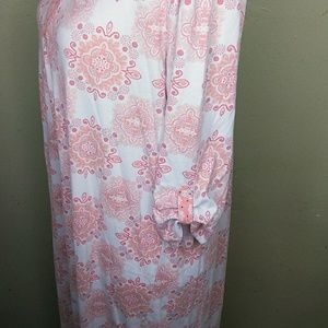 Kim Rogers Intimates & Sleepwear - Kim Rogers Ballet Length Nightgown w/Tab Sleeves L